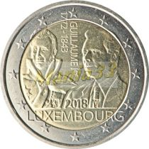 2€ Juhlaraha Luxemburg 2018 William I